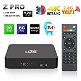 Android 7.1 TV Box 2GB RAM 8GB ROM 4K Ultra HD 3D 2.4GHz WIFI Smart Internet TV Box U2C Z Pro Amlogic S905X Quad Core 64 Bits Video Media Player