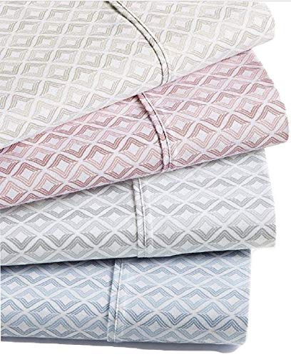 (Sorrento Print Queen 6-Pc Sheet Set, 500 Thread Count (Blue))