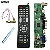 WILLAI V56 Universal LCD TV Controller Driver Board PC/VGA/HDMI/USB Interface+7 Key Board+Baffle