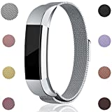 For Fitbit Alta HR and Alta Bands, Maledan Stainless Steel...