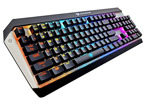 Cougar Attack X3 RGB Mechanical Gaming Keyboard, Cherry MX Red Switches For Sale