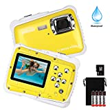 Kids Camera,DECOMEN Underwater Action Camera Waterproof Dust Proof Camcorder with 8G SD card