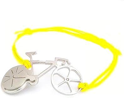 Pulsera Bicicleta de carreras de acero con diamante Tour de France ...