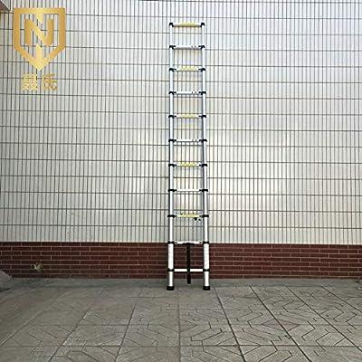 ZWYY Escalera telescópica de Aluminio Escalera de ingeniería telescópica Escalera Vertical Multiusos Escaleras Verticales Antideslizantes portátiles: Amazon.es: Jardín