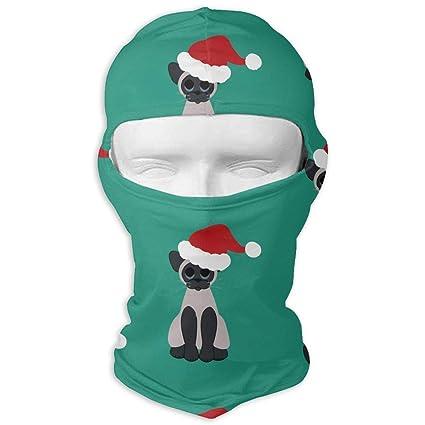 Xukmefat Gatos navideños en Santa Hat Táctico Multiuso ...