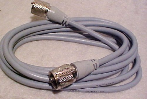 UPC 041190216048, Redman Cb Made 6 ft RG8X COAX Gray Jumper CABLE CB / Ham Radio w/ PL259 Connectors