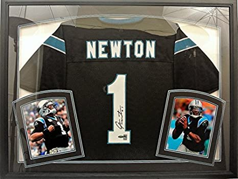 Image Unavailable. Image not available for. Color  Cam Newton Framed Jersey afe7333f0