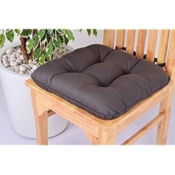 Amazon Com Lushness Linen Presents 100 Cotton Chair Pad