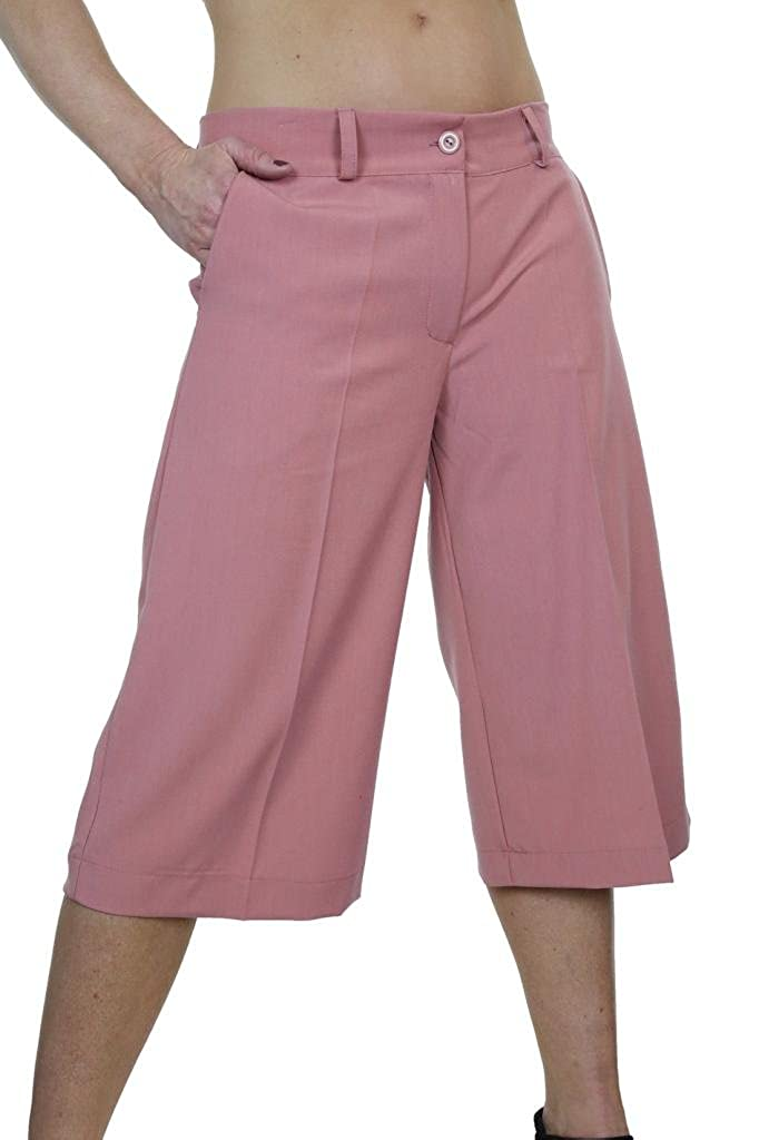 ICE (1475) Smart Soft Culottes 3/4 Trousers