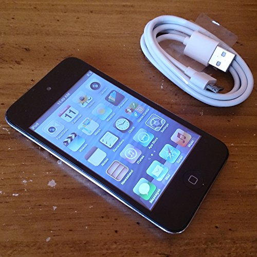 Apple iPod touch 32GB Black MC544L/A (4th Generation) (Discontinued by Manufacturer) (Wifi Bluetooth Mp3)