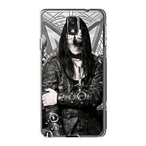Protector Hard Phone Case For Samsung Galaxy Note3 With Support Your Personal Customized Realistic Dimmu Borgir Band Skin JamieBratt