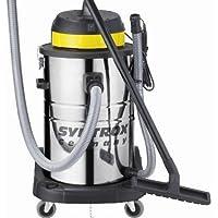 Syntrox Germany - Aspiradora industrial para superficies secas o mojadas (acero inoxidable, 3900 W, 80 L)