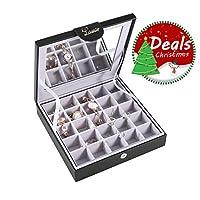 Lamir Jewelry Box Organizer Storage Earring