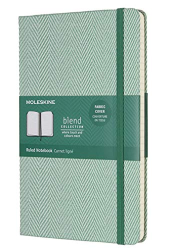 Moleskine Limited Edition Blend Collection Notebook Large Ruled Green (8055002856003)
