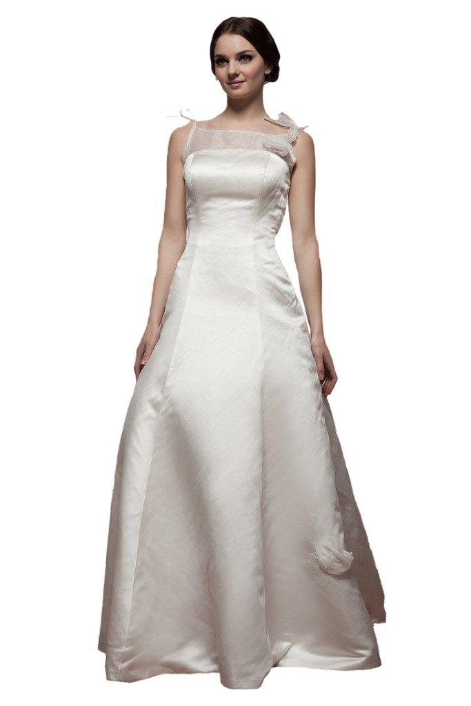 (ウィーン ブライド) Vienna Bride ウェディングドレス 花嫁ドレス ドレス レース ブライダル ふんわりとする裾 編み上げ ハイネック 透け感 オープンバック ウエストニッパー アップリケ B01MS6CBZI 23W アイボリーD アイボリーD 23W