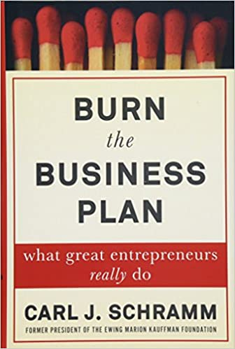 alexander osterwalder burn your business plan