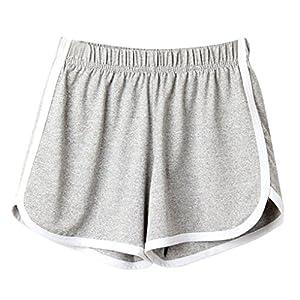 Pantaloncini Sportivi Donna,Estivi Eleganti,Pantaloni Felpa Donna,Yanhoo® Moda Donna Donna Estate Sport Pantaloncini… 10 spesavip