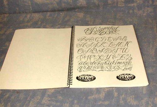 Gentlemans tattoo flash script lettering book a gentleman s guide
