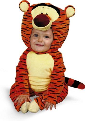 Toddler Tigger Costume 2t (Tigger Plush Classic Costume - (12-18 mths) - Infant)