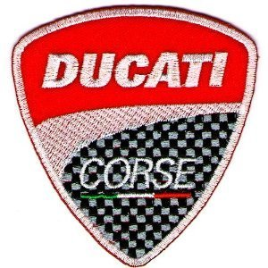 Amazon Com 3pcs Ducati Embroidered Iron On Patch Sew On Car Logo