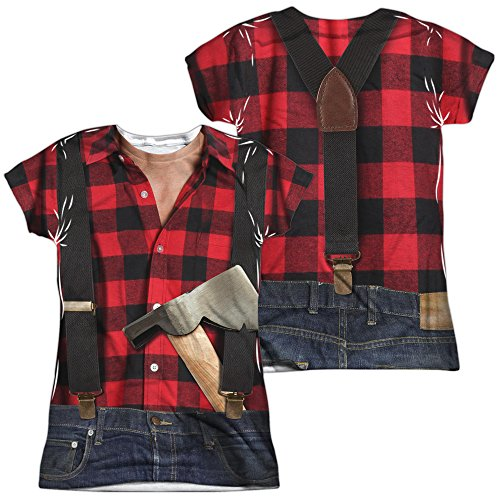 Lumberjack Costume Women's Sublimated T -