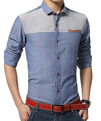 25644105e15 XTAPAN Men s Oxford Casual Shirt Long Sleeve Button Down Dress Shirt Slim  Fit · Details Buy on Amazon · Calvin Klein Jeans ...