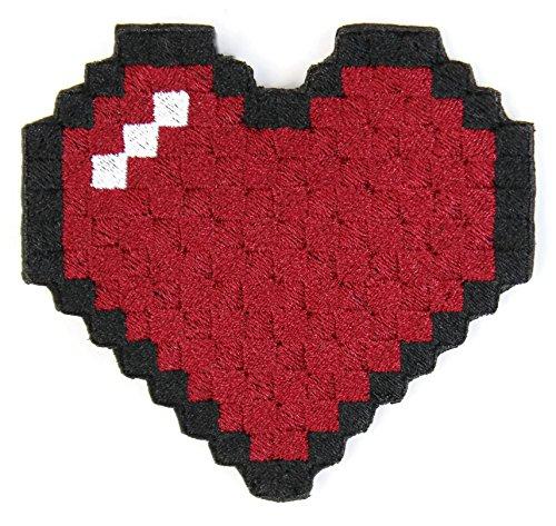 Ladies Maroon Heart - 1