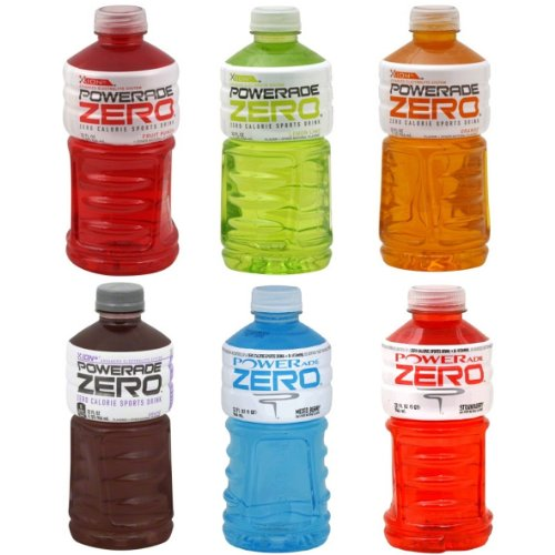 Powerade zero sports drink 32 fl oz pack of for Cocktail 0 calorie