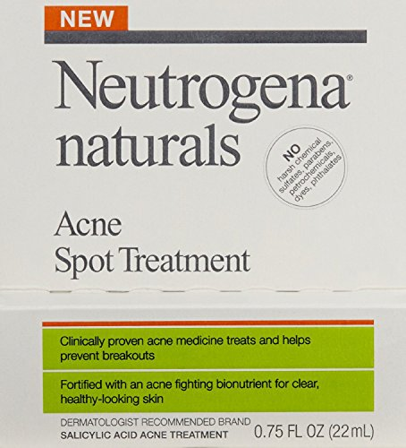 Neutrogena Spot Acne - Neutrogena Naturals Acne Spot Treatment, 0.75 OZ (PACK OF 2)
