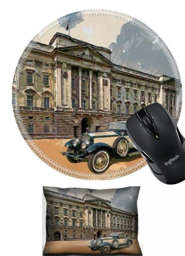Liili Mouse Wrist Phantom II Henley Roadster in front of Palace Oil Painting moderate abstract Photo 8363282