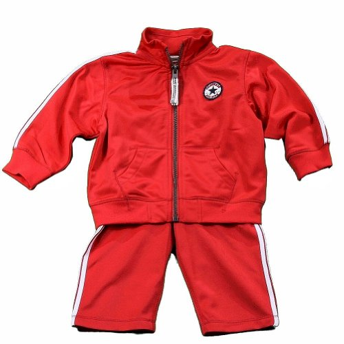 Converse Infant/Toddler Boy's Red Track Pant & Jacket 2-Piece Set Sz: -