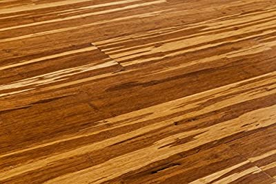 Yanchi Bamboo Wood Flooring 3/8 x 4 9/10 IN Plank - Strand Woven Click Collection