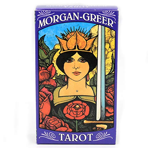 Huluda Morgan Greer Tarot 78 Cards Deck Party Board Game Divination Oracle Playing Card
