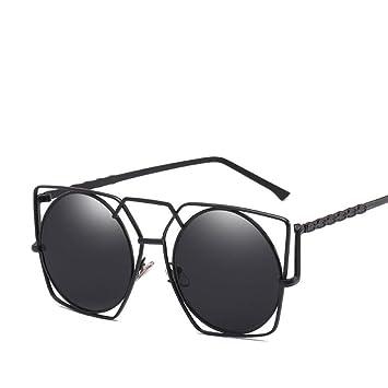 Axiba Gafas de Sol Hueco de Metal Irregular Marea Estilo de ...