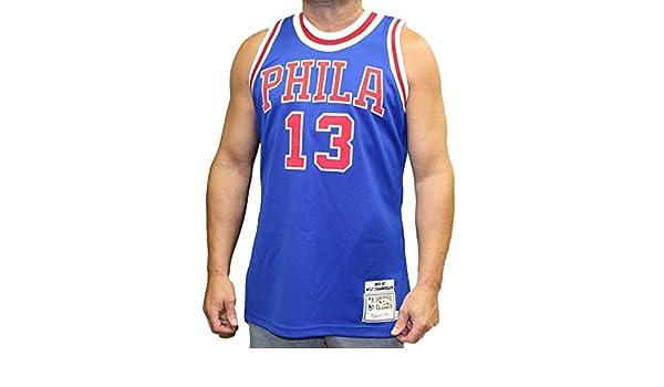 50fc401943c Amazon.com   Mitchell   Ness Wilt Chamberlain Philadelphia 76ers Authentic  1966-67 NBA Jersey   Sports   Outdoors