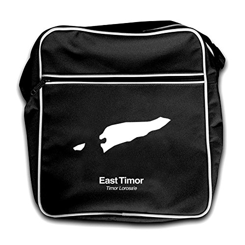 Bag Red Silhouette East Timor Black Retro Flight Rng0q