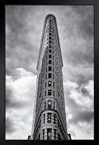 Flatiron Building Midtown Manhattan New York City Photo Art Print Framed Poster 14x20 inch ()