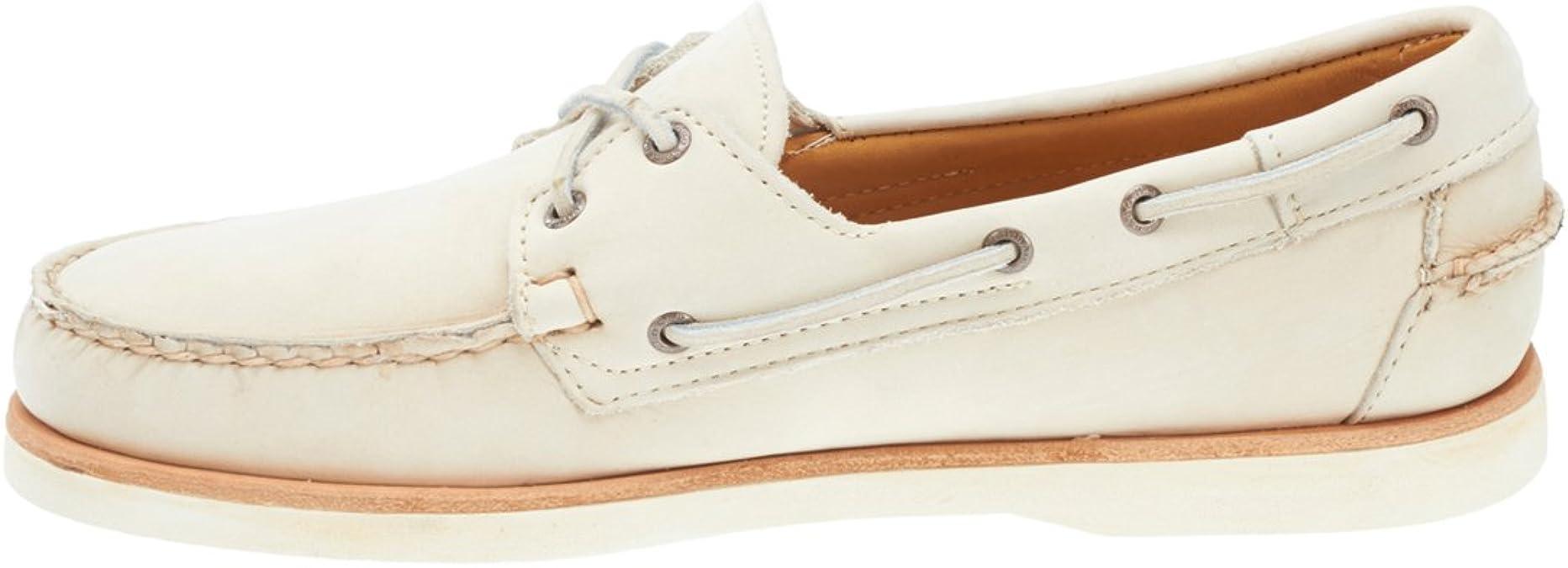 Sebago Crest Docksides Men/'s Dark Brown Nubuck Boat Shoes