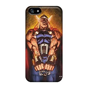 Excellent Iphone 5/5s Case Tpu Cover Back Skin Protector Thor I4