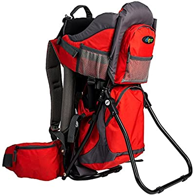 """Clevr""""Canyonero"""" Baby Backpack Hiking Child Carrier with Stand and Sun Shade Visor Child Kid Toddler"""