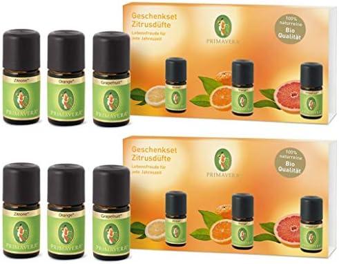Primavera - Set de regalo con aroma a limón y pomelo, color ...