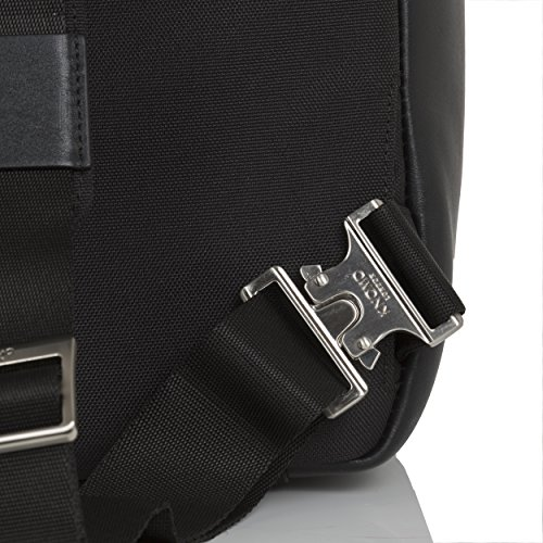 Knomo Luggage Men's Dale Business Backpack, Black, One Size by Knomo (Image #6)