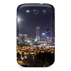 LHolme Snap On Hard Case Cover Amazing City Night Protector For Galaxy S3