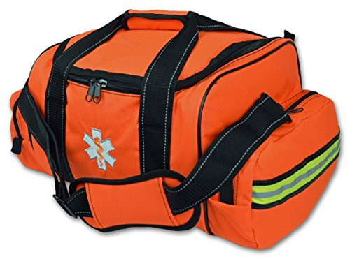 (Lightning X Large EMT First Responder Bag w/Dividers - Florescent Orange)
