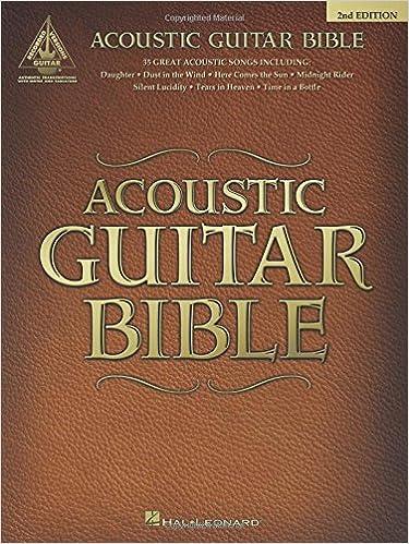 Amazon Acoustic Guitar Bible Guitar Recorded Versions