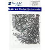 SS10 (3mm) Crystal Hot Fix Rhinestones 10 Gross (1440 stones/pkg) Hotfix Rhinestones - 32 Colors and 4 sizes available