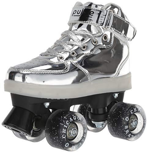 Pulse Skates Roller Skates Silver Size 3