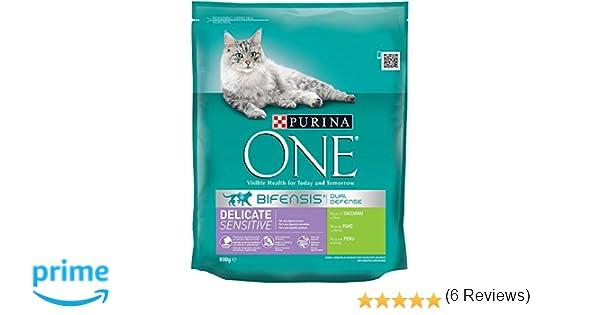 PURINA ONE Bifensis Pienso para Gatos con la Digestión Sensible ...