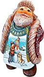Used, G. Debrekht Illustrated Santa with Child and Dog Making for sale  Delivered anywhere in USA