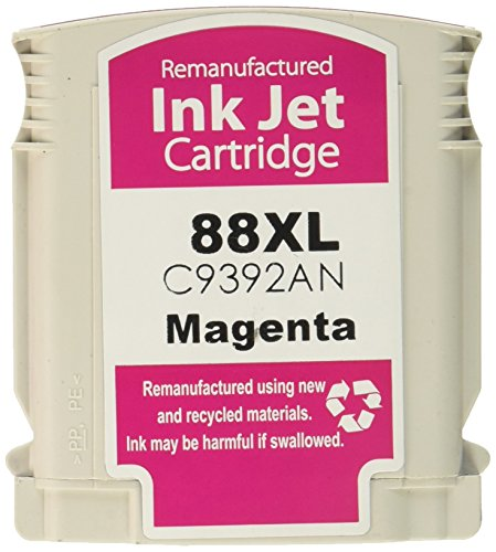 Premium Compatibles Inc. Pci Hp 88 C9392 Large Magenta Inkjet Ctg For Hp Officejet Pro K5400 8600 (Magenta 88 Ink Large)